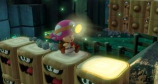 Toadette may have been a playable character in Super Mario 3D World + Bowser's Fury