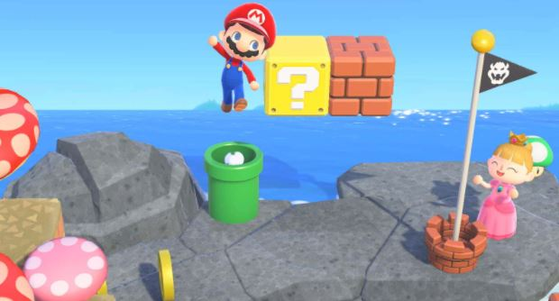 Super Mario's quirky pipe workings detailed in Animal Crossing: New Horizons