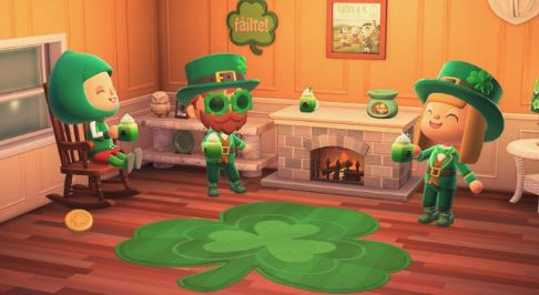 Animal Crossing New Horizons: All Clover (Saint Patrick) Day Items and How to Get Them