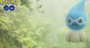 Castform Shiny Rain Form stars in the new Pokémon GO Weather Week: all the details