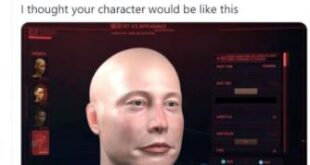 """Elon Musk showed himself and his """"cool car"""" in Cyberpunk 2077"""