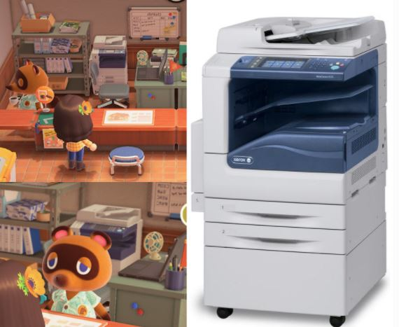 A Tom Nook item from Animal Crossing: New Horizons found in reality