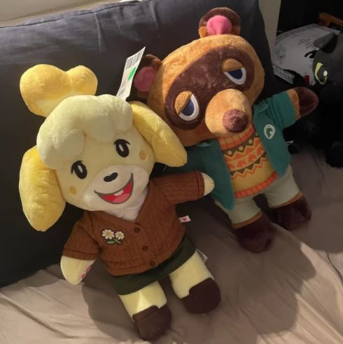 isabelle and tom nook plushies