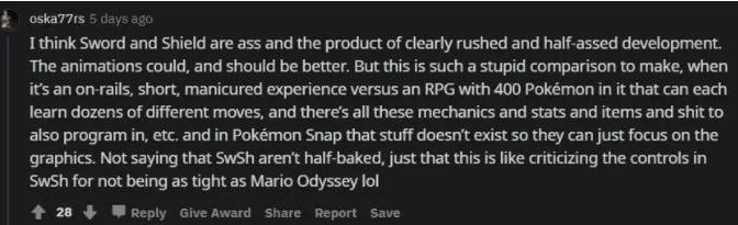 pokemon legend arceus vs ne pokemon snap