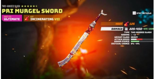 How to get the Pri Murgel Sword in Biomutant: the best weapon in the game