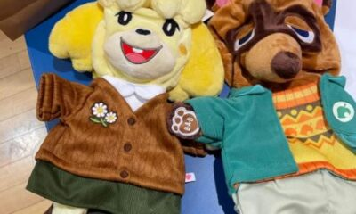 New outfits leak for Animal Crossing: New Horizons x Build-A-Bear plushies