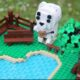 ANIMAL CROSSING NEW HORIZONS BECOMES A LEGO DIORAMA