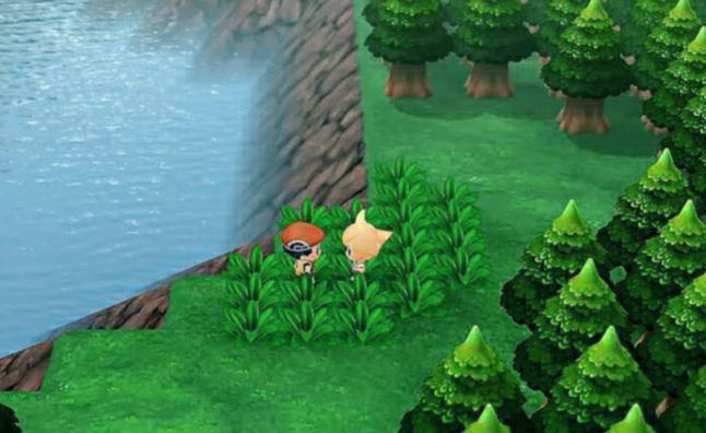 pokemon brilliant diamond screen shots leaked