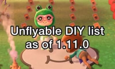 The new update of Animal Crossing: New Horizons restricts some recipes, includes new ones that we can already learn and more