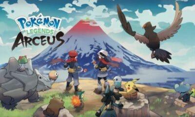 Pokémon Legends Arceus: Pokémon type logos registered