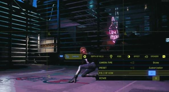 How to Unlock Advanced Photo Mode in Cyberpunk 2077
