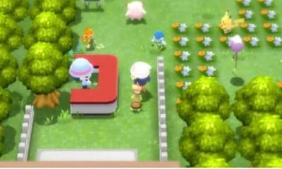 How to make your Pokémon walk with you in Pokémon Brilliant Diamond and Shining Pearl