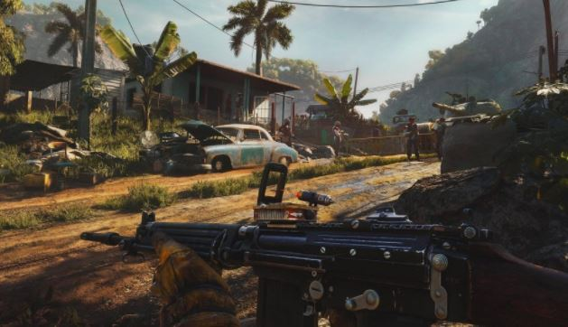 Where are all the cars in Far Cry 6